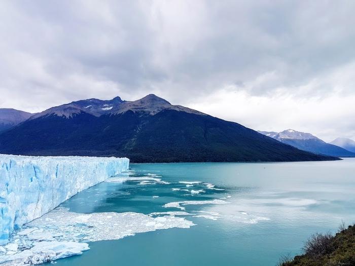 Il ghiacciaio Perito Moreno nella Patagonia argentina