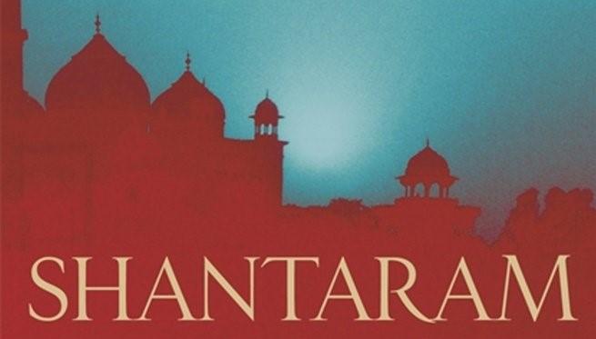 la copertina del libro shantaram