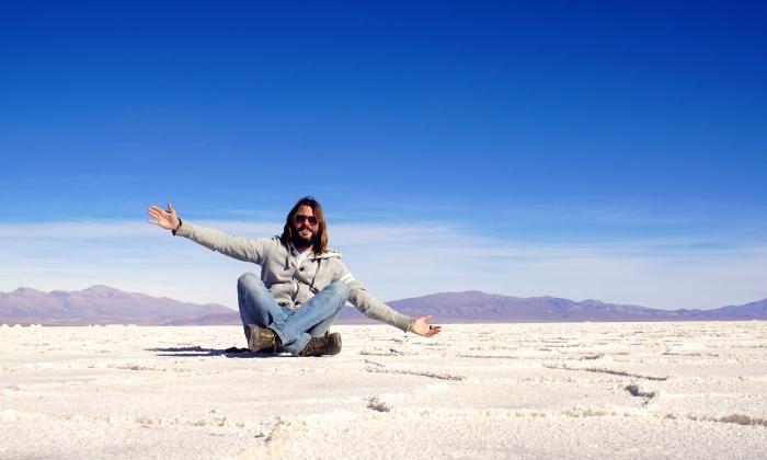 claudio pelizzeni nel deserto di sale