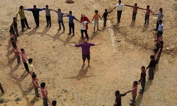 la felicità raggiunta in India
