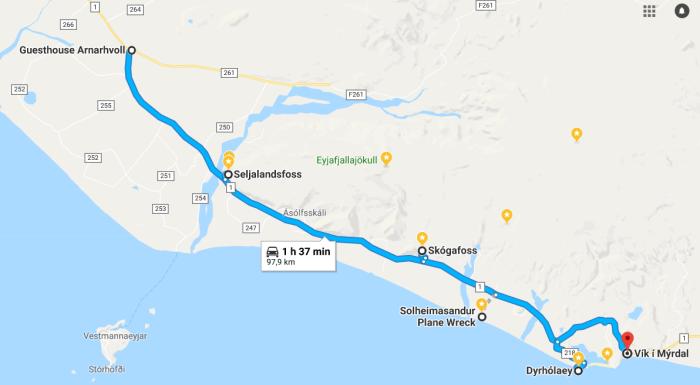 itinerario del giorno 3