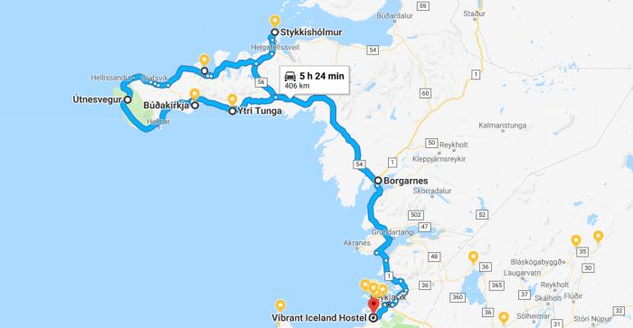 itinerario del giorno 6