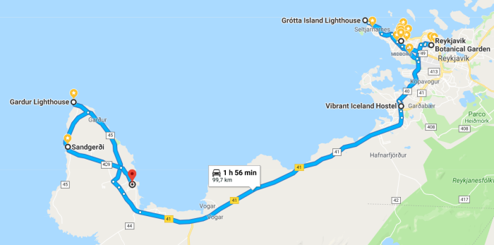 itinerario del giorno 2