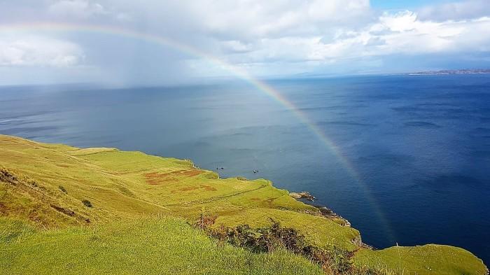 scozia fai da te low cost brughiere arcobaleno