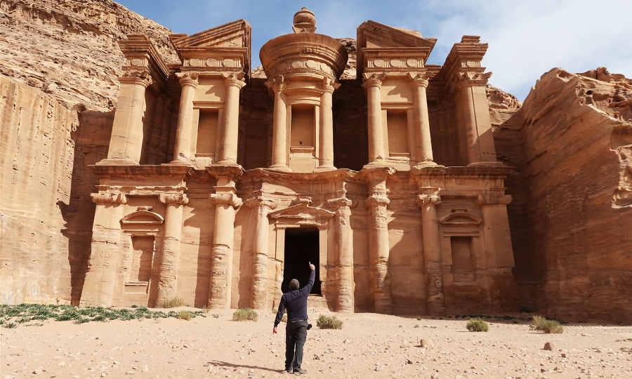 giordania low cost autonomia risparmio da soli petra monastero