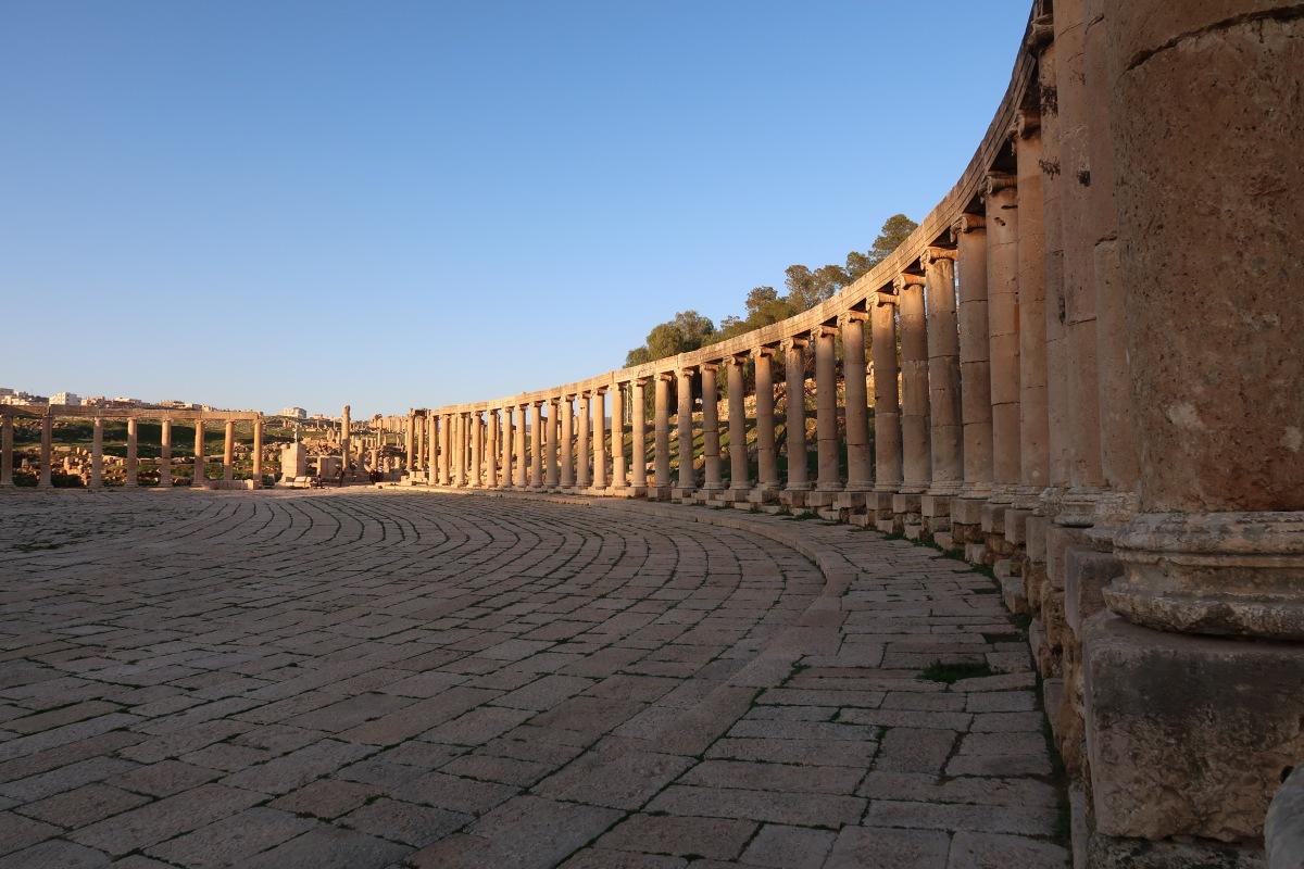 GIORDANIA low cost e fai da te: itinerario #1 a Jerash, passeggiando tra le antiche vestigia romane (con VIDEO)