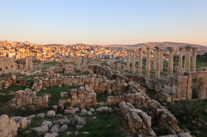 jerash giordania fai da te itinerario low cost