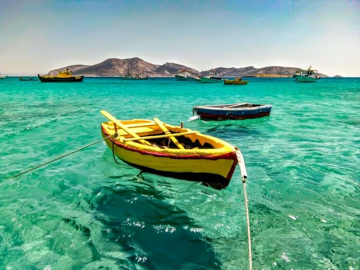 grecia mare cristallino luogo dell'anima