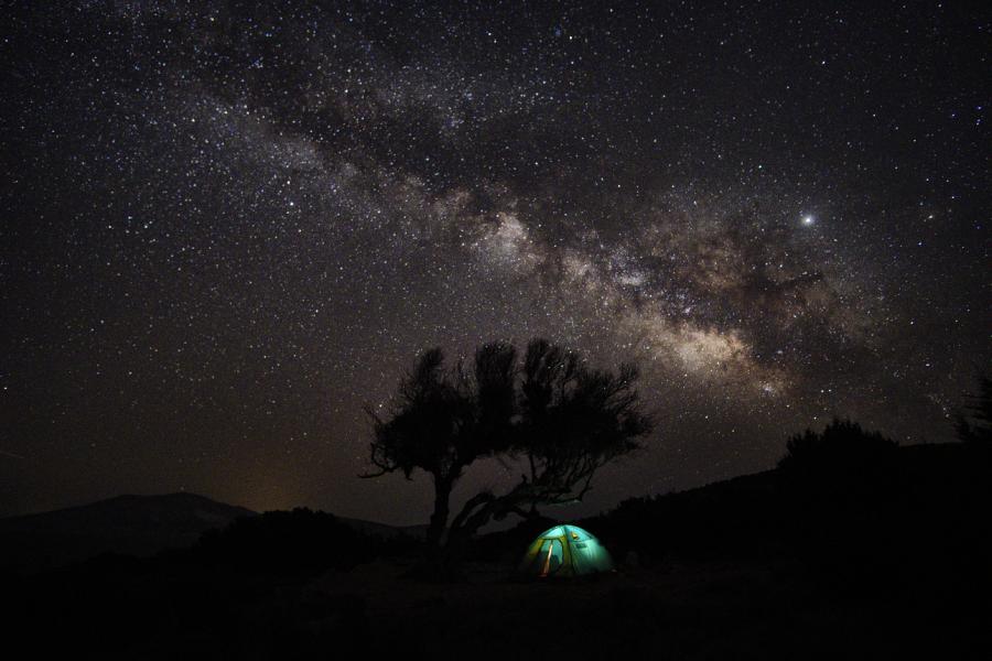 grecia cielo stellato luogo dell'anima
